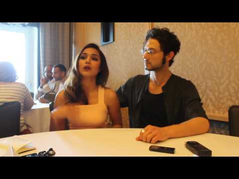 THE MAGICIANS  SDCC 2016  Summer Bishil and Hale Appleman