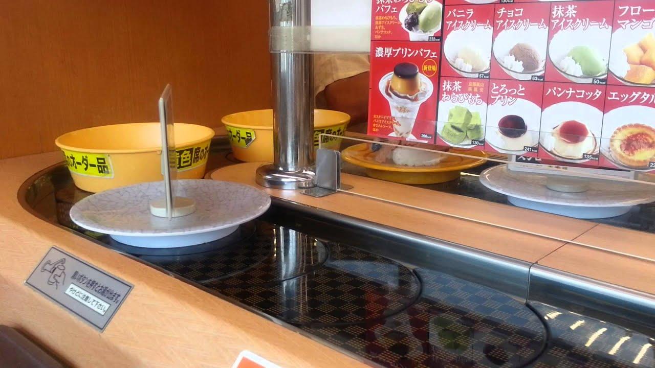 JapanForever In diretta dal Giappone - Kaiten Sushi, Sushi girevole