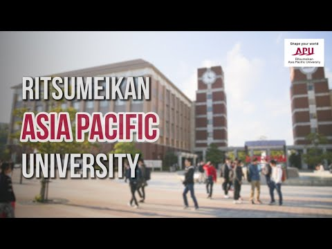 Intro to Ritsumeikan Asia Pacific University 2017