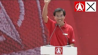 Dr Chee Soon Juan Lunchtime Election Rally Speech GE2015 at UOB Plaza 7 September 2015