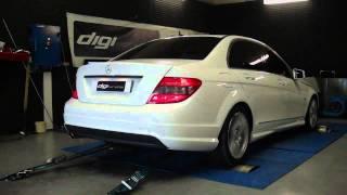 Reprogramamtion moteur Mercedes C 220 cdi 170cv @ 221cv dyno digiservices