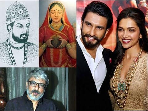 Padmavati film songs Ranveer Singh, Shahid Kapoor  Deepika Padukone  directed Sanjay Leela Bhansali