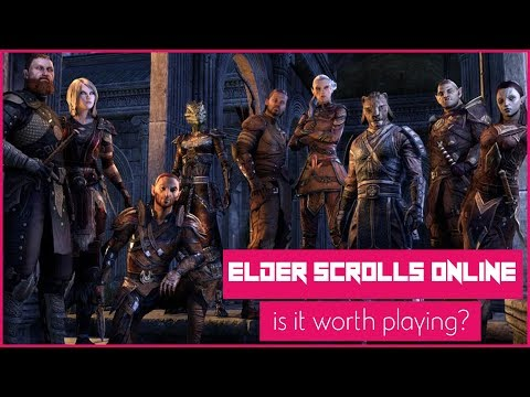 Is The Elder Scrolls Online Worth Playing In 2017-2018? An ESO MMORPG Review!
