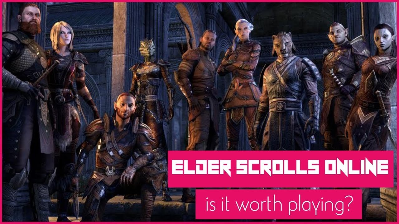 Why The Elder Scrolls Online Is Worth Playing In 2017