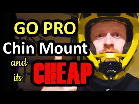 How to Make a Cheap MTB Chin Mount
