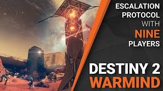 Escalation Protocol with 9 Players?! - Destiny 2: Warmind thumbnail