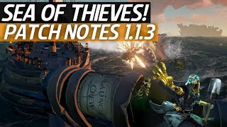 Sea Of Thieves News - Patch Notes 1 1 3! Megalodons Return, Updates, Fixes & More!