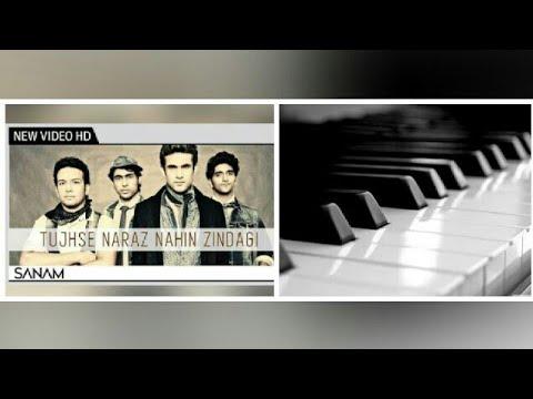 Tujhse Naraz Nahin Zindagi Instrumental Casio || SANAM ||