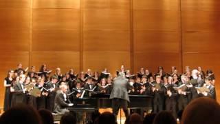 Tufts University Concert Choir November 2016 Gott im Ungewitter