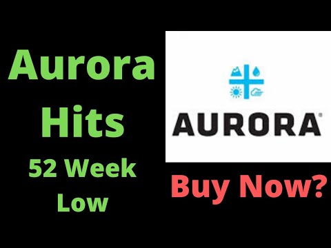 Aurora Cannabis Hits 52 Week Low! Will Aurora Stock Recover?