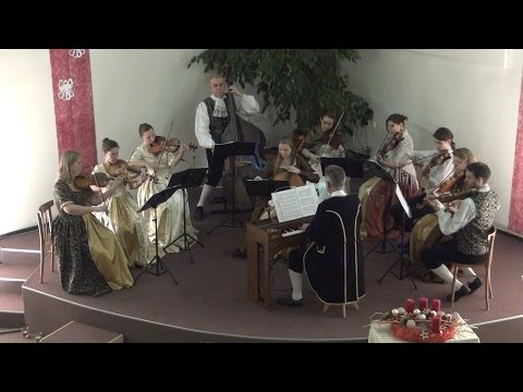 Johann Baptist Georg Neruda (1707-1780) Sinfonia in A major