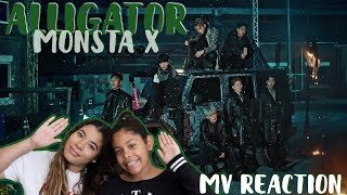 ALLI-ALLI-ALLI-ALLIGATOR! 🐊 | MONSTA X - ALLIGATOR | MV REACTION