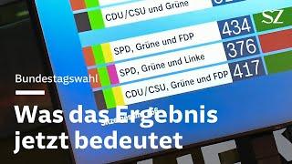 Bundestagswahl 2021: Was das Ergebnis für die Koalitionsverhandlungen bedeutet