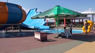 Аквапарк в Кирилловке(небольшое видео с аквапарка
