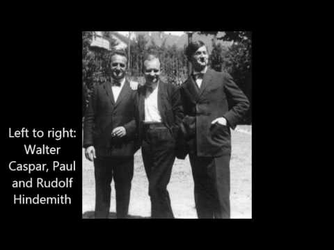 Reger String Trio No 1 in A Minor (Amar Trio, 1927)
