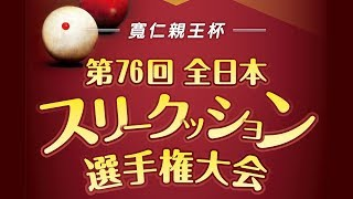 第76回全日本3C選手権:町田正 vs 島田暁夫
