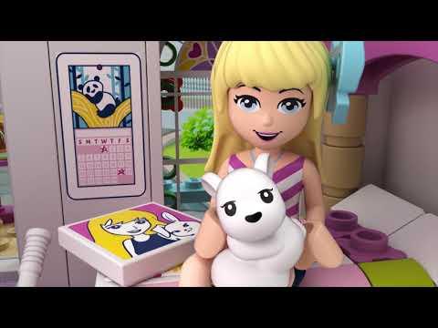 Vellidte Stephanies hus - LEGO Friends 41314 (SE) - YouTube UK-72