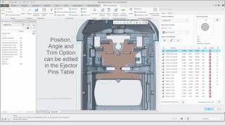 Creo Parametric - Expert Moldbase Extension 10.0 - Ejector Pin Designer