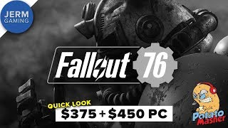 Fallout 76 on a GTX 760 and GTX 1060 - Does it work on budget PCs?