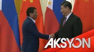 Pagkakaibigan nina Duterte at Xi