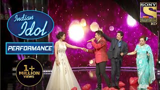 Aditya And Shweta Danced To The Tunes Of 'Pehla Nasha'! | Indian Idol Season 12