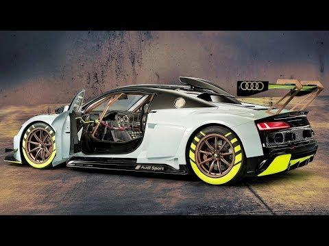 2019 Audi R8 LMS GT2 - Race Car For Automobile Enthusiasts