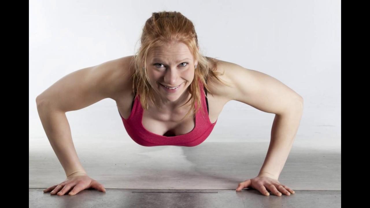 Female athlete Sexy skinny