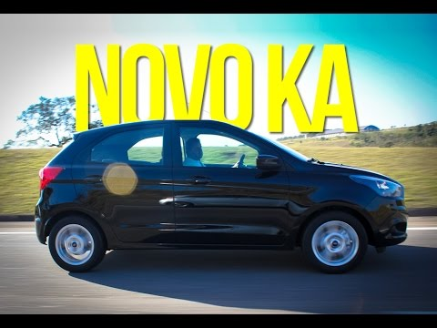novo ford ka 2015 primeiras impress es carplace tv 19 youtube. Black Bedroom Furniture Sets. Home Design Ideas