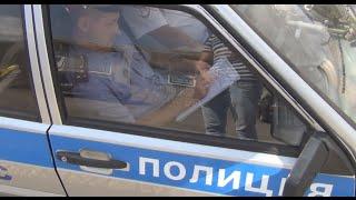 Рейд Ширманова и ДПС по нарушителям в погонах