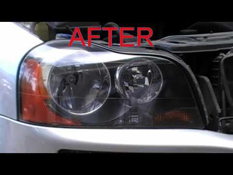 Headlight Restoration Service Volvo XC90 Oxidized Cloudy Headlights Hollywood Florida