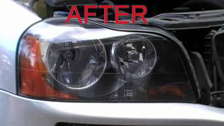Headlight Restoration Service Volvo XC90 Oxidized Cloudy Headlights Hollywood Florida