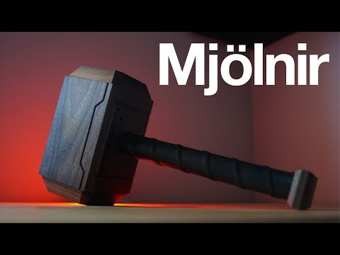 Mighty Mjolnir Headphone & USB Dock DIY (Thor's Hammer)