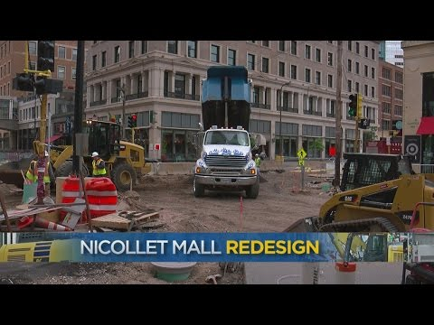 Frustration Mounts As Nicollet Mall Construction Enters 3rd Summer