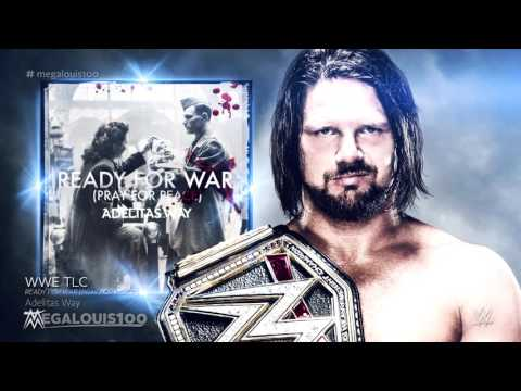 """WWE TLC 2016 Official Theme Song - """"Ready for War"""" (Pray for Peace) with download link"""