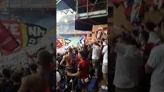 Gradinata nord...fine partita Genoa-lecce Coppa Italia ❤💙