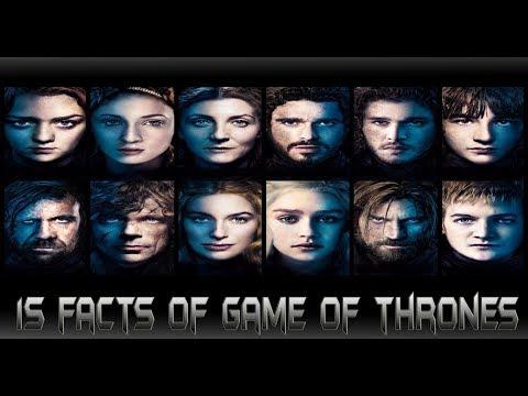 15เรื่องราวน่ารู้ที่คุณไม่น่าจะรู้จากGame of Thrones!![15 Facts of Game of Thrones]comic world daily