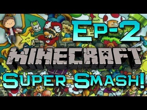 Minecraft: Super Craft Bros Brawl w/Mitch Game 2 - Secret Spot!
