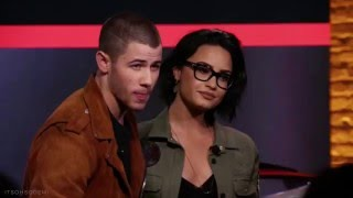 Demi Lovato & Nick Jonas at the Honda Civic Tour Announcement - March 22nd