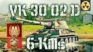 vk 30 02 d world of tank blitz 6 kills mastery gameplays