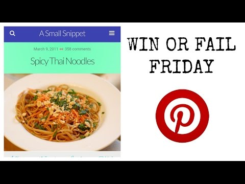 Spicy Thai Noodles | Win or Fail Friday!