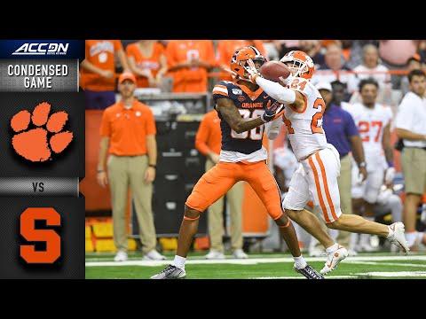 Clemson vs. Syracuse Condensed Game | ACC Football (2019-20)