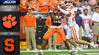 Clemson vs. Syracuse Condensed Game | ACC Football (2019-20)