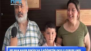 Selman Nasır Eskiocak İlköğretim Okulu gururlandı