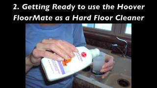 Hoover FloorMate FH40010B SpinScrub Hard Floor Cleaner Review