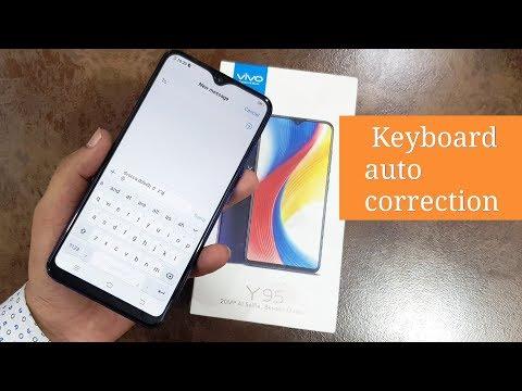 Vivo mobile keyboard settings /Vivo Y95 keyboard settings