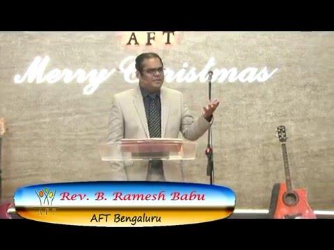 Pastor Ramesh AFT Bangalore Sermon Meditation#9