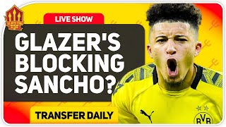 Glazer's Halt Sancho Deal! Premier League Fixtures Reaction! Man Utd Transfer News