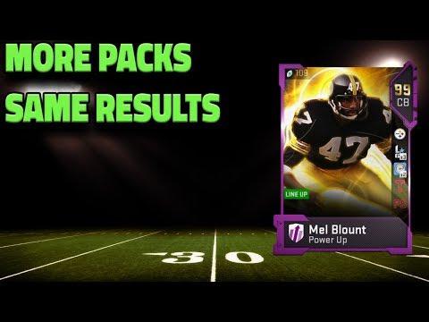 more PACKS for ULTIMATE LEGEND MEL BLOUNT | Madden 19 Ultimate team