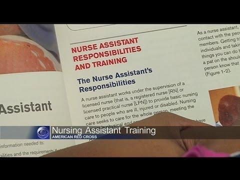 Red Cross Holds Class To Train People For Healthcare Jobs
