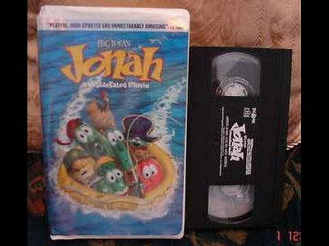 Opening to Jonah a Veggie Tales Movie 2003 VHS (Real Copy)